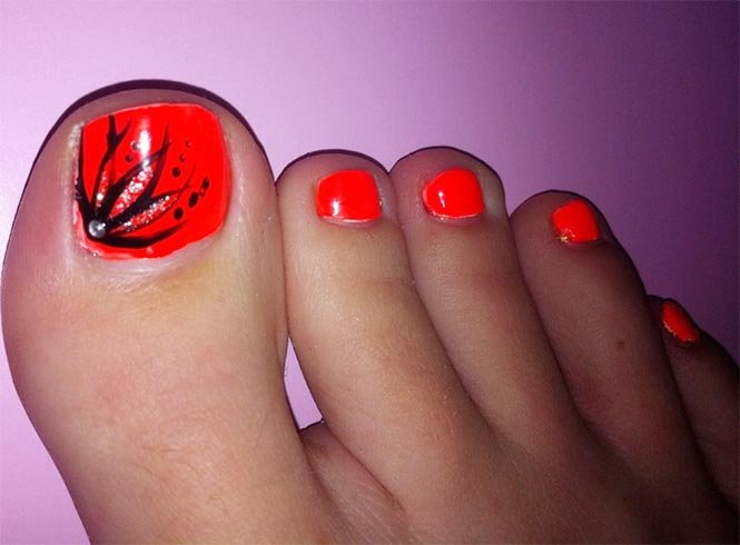 Red Toe Nail Designs Image collections - easy nail designs for ...