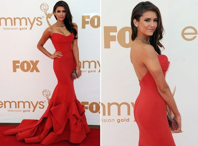 Nina Dobrev at Emmy Awards 2016