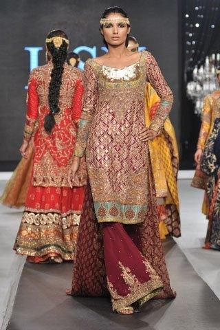 Pakistani Designer Hassan Sheheryar Yasin Dresses