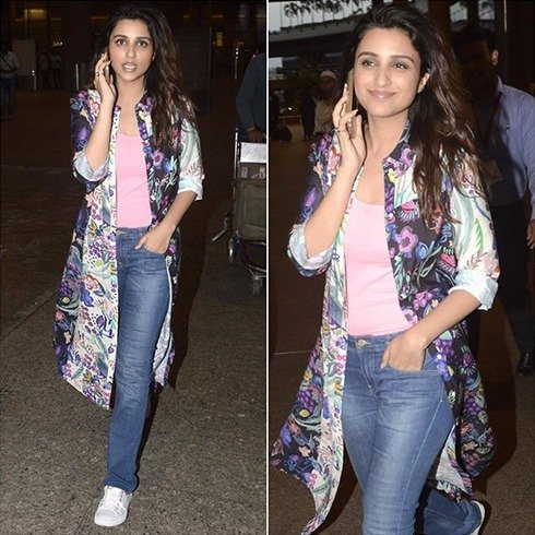 Parineeti Chopra Casual Look