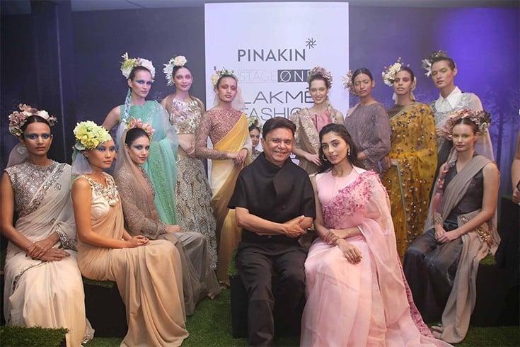 Pinakin Designs at LFW 2016
