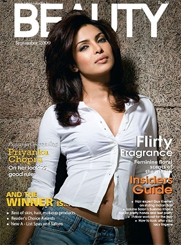 Priyanka Chopra Beauty September 2009 Magazine