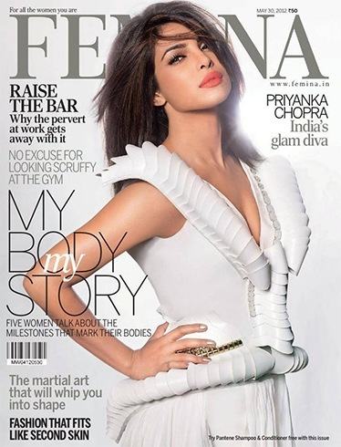 Priyanka Chopra Femina Magazine May 2012