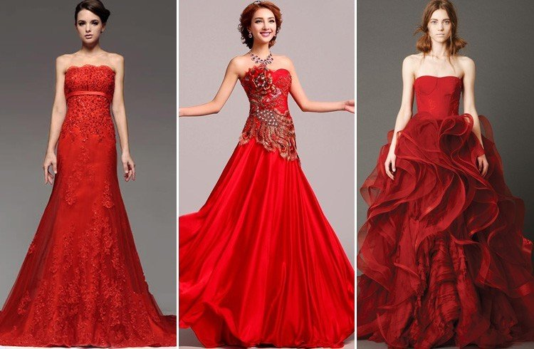 Red Dress To a Wedding