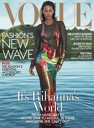Rihanna in Vogue US April 2016