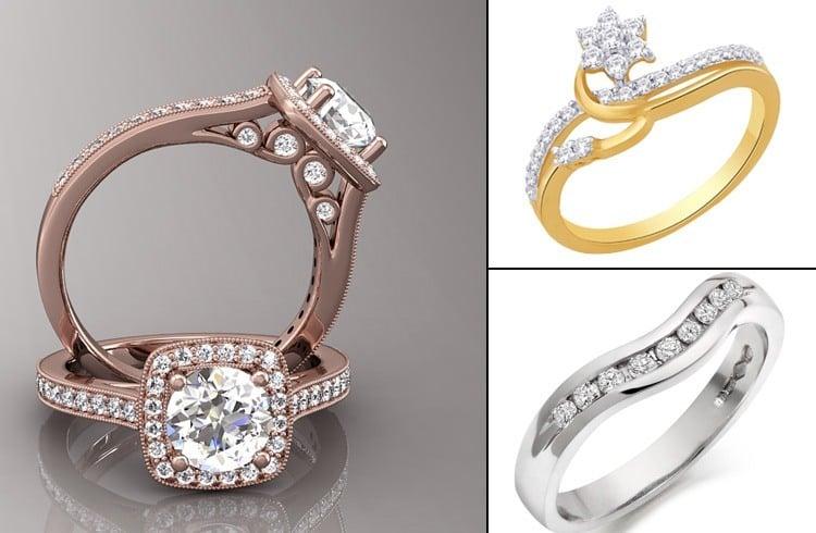 Rings for bridesmaids