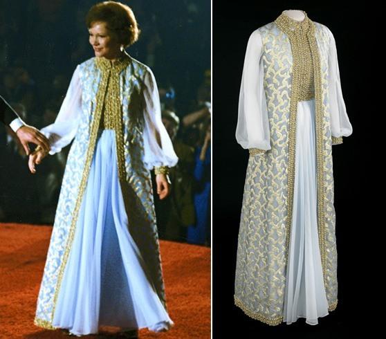 Rosalynn Carter inaugural gown