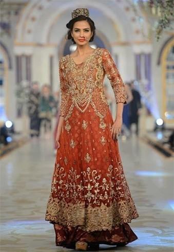 Saira Rizwan Bridal Wear