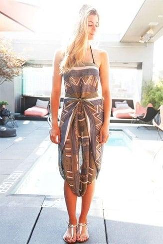 Sarong Style Swimwear