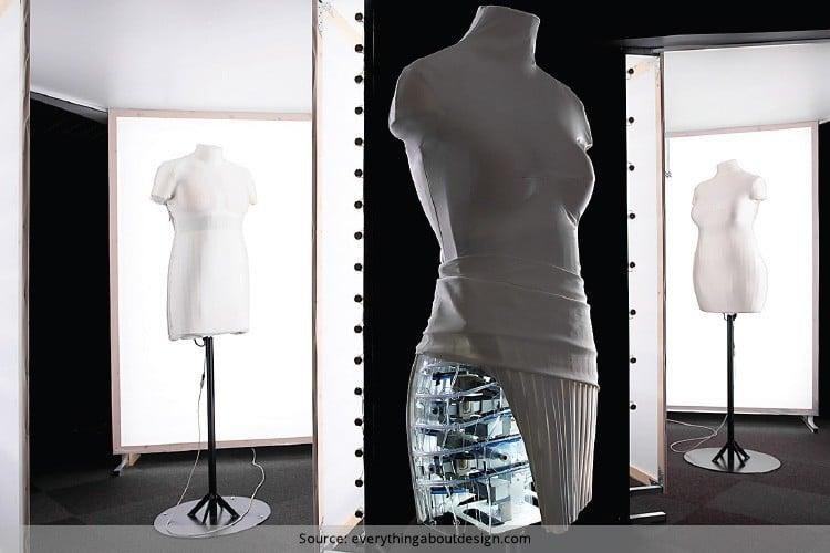 Shape Shifting Mannequins