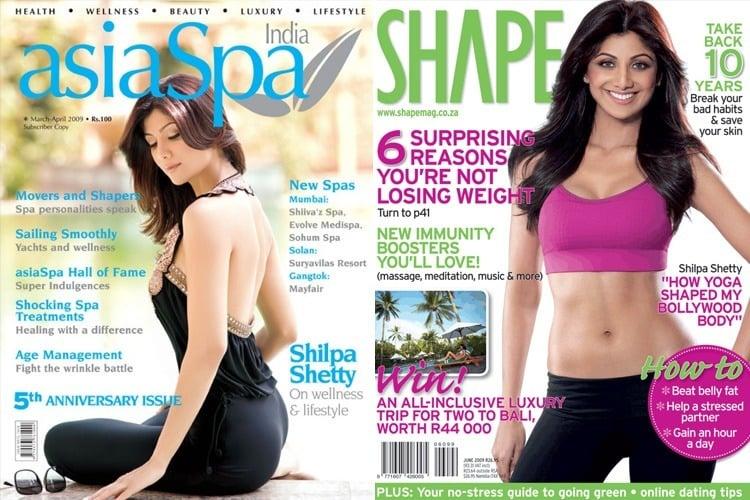 Shilpa Shetty Magazine Cover