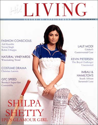 Shilpa Shetty on Hi Living