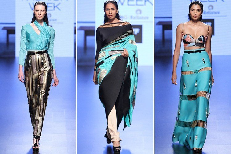 Shivan and Narresh at Lakmé Fashion Week 2016