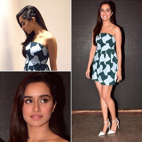 Shraddha in Paule Ka dress