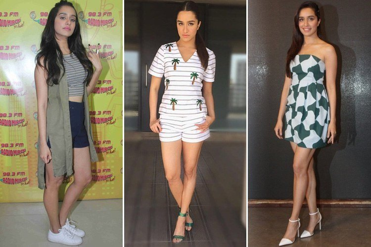 Shraddha Kapoor at Baaghi Promotions