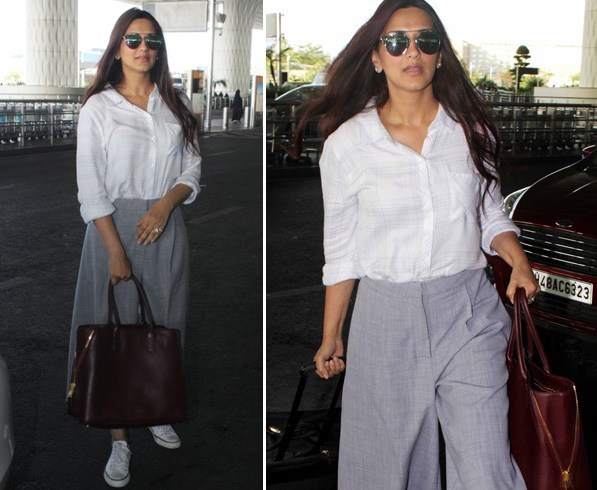 Sonali Bendre Airport Style