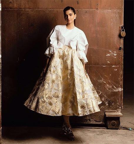 Sonam Kapoor in Delpozo gown