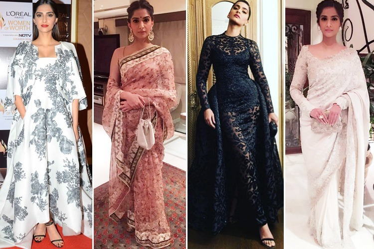 Sonam Styled By Rhea Kapoor