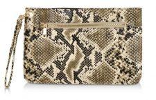 Spring Break Snake Skin Texture Clutch
