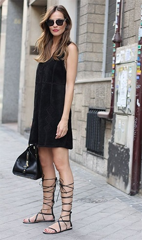 Style Tips For Lace Up Flats