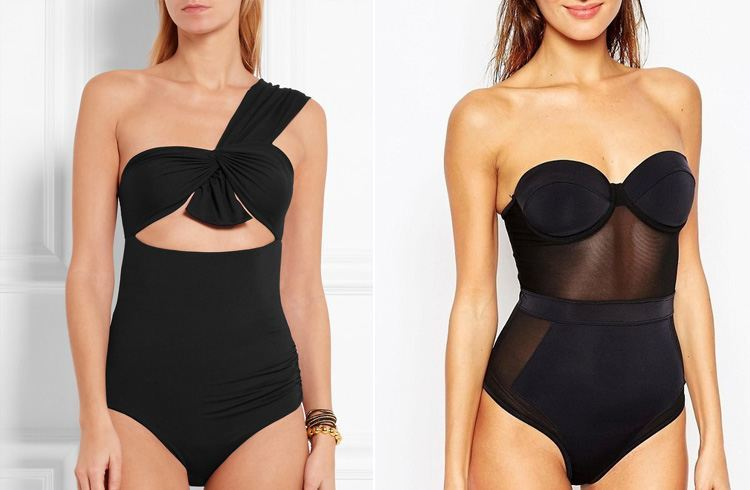 Swimsuit for curvy shaped body