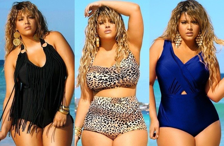 Swimsuits For The Plus Sized Beauties