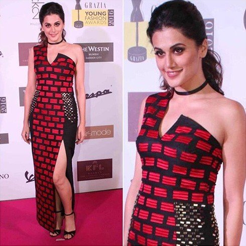 Tapsee Pannu in Urvashi Joneja dress
