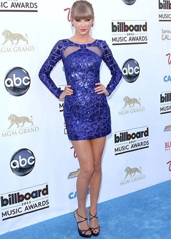 Taylor Swift Blue Dress