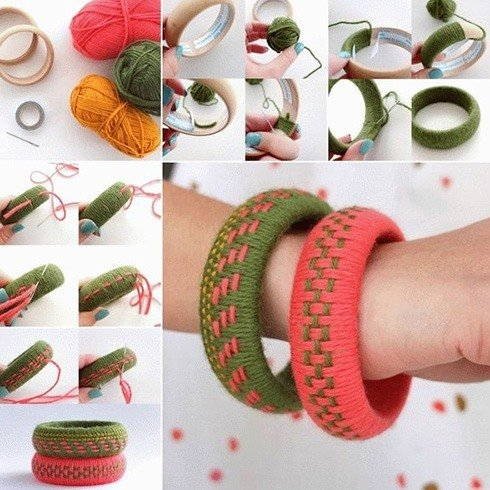 Thread Bangles Making