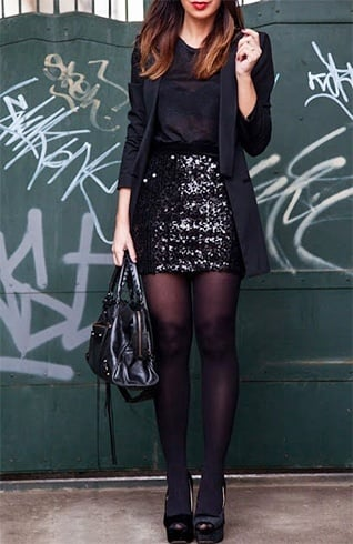 Sequin Skirt Style Tips