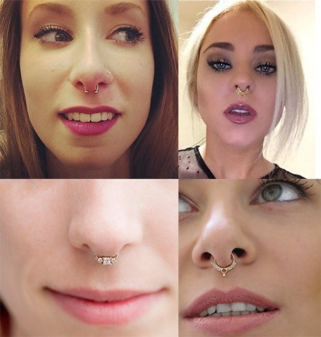 Types Of Septum Piercing