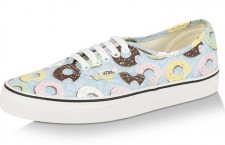 VANS Late Night Munchies Collection Doughnut Print Trainers