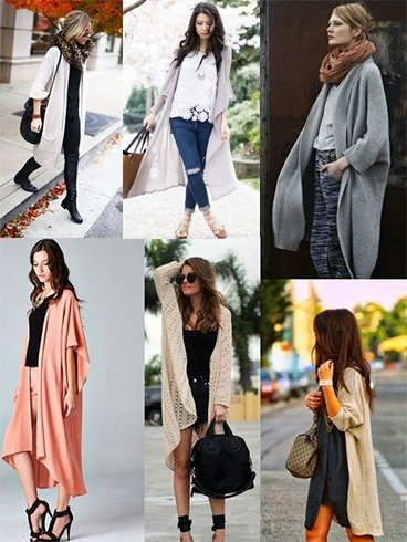 Ways To Style Long Cardigans