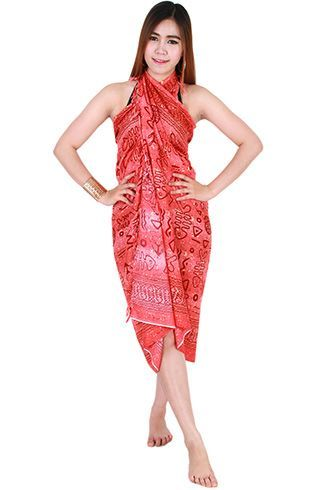 Ways To Wear Sarong