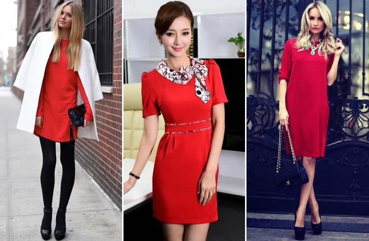How To Wear Red Dress To Work