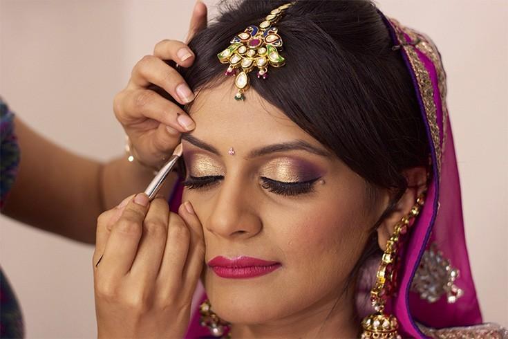 Wedding Eye Makeup in Summer