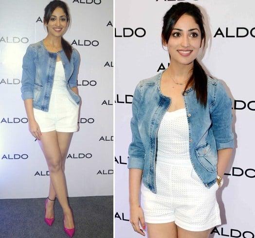 Yami Gautam in Shorts