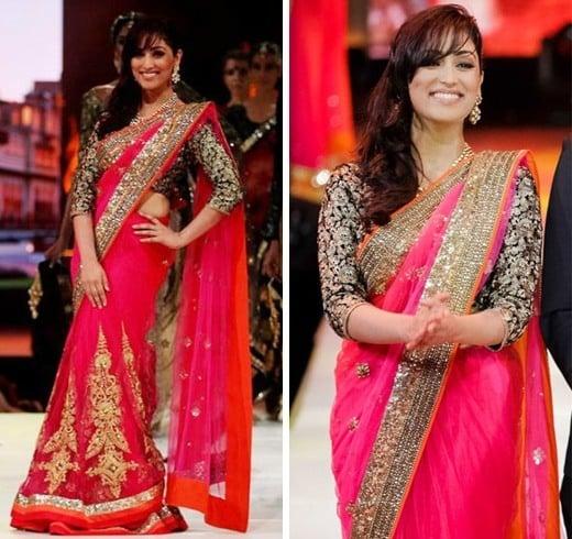 Yami Gautam Saree Styles