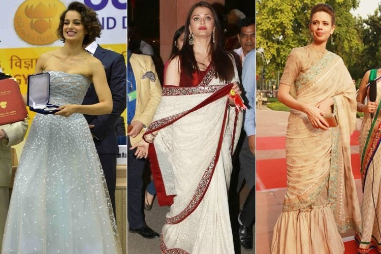 Celebrities At The National Awards