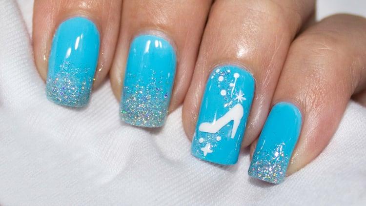 Cinderella Nail Design