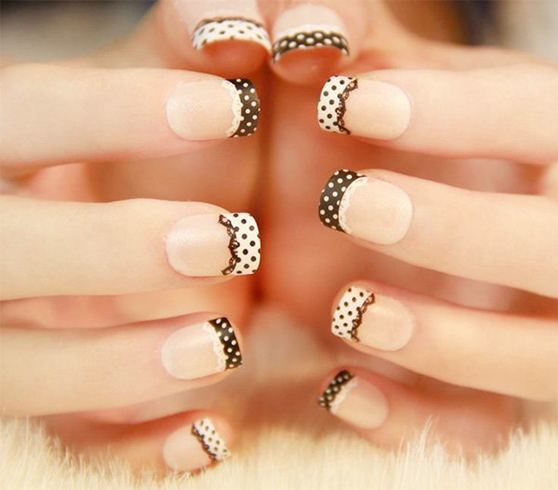 16 White Tip Nail Designs: Different French Manicure Variations ...