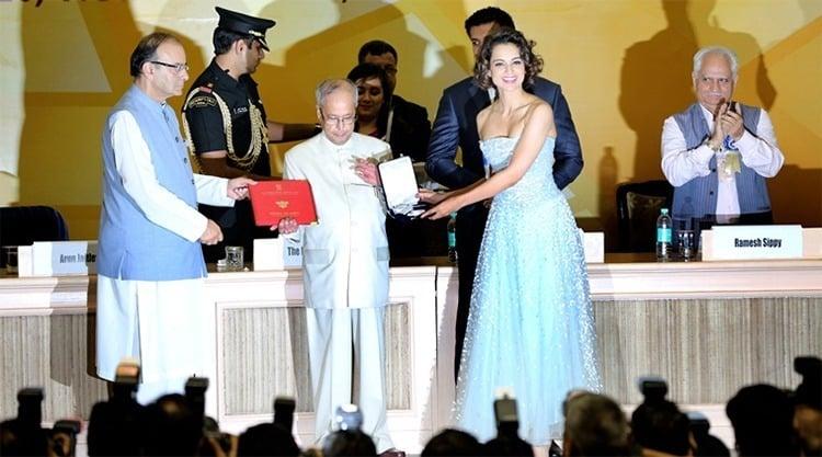 Kangana Ranaut Best Actress Award