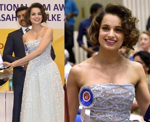 Kangana Ranaut Photoshoot At National Awards