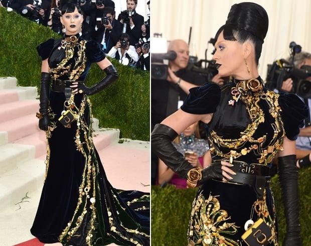 Katy Perry At Met Gala 2016