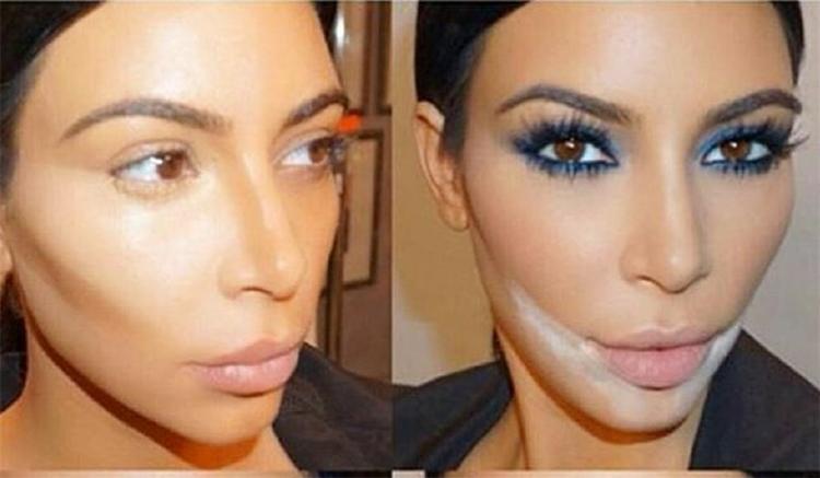 Sandbagging Makeup