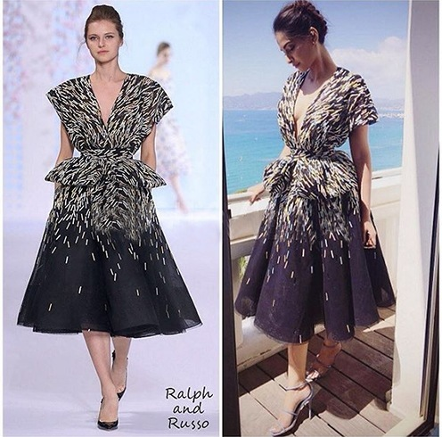 Sonam Kapoor in A Ralph Russo Outfit