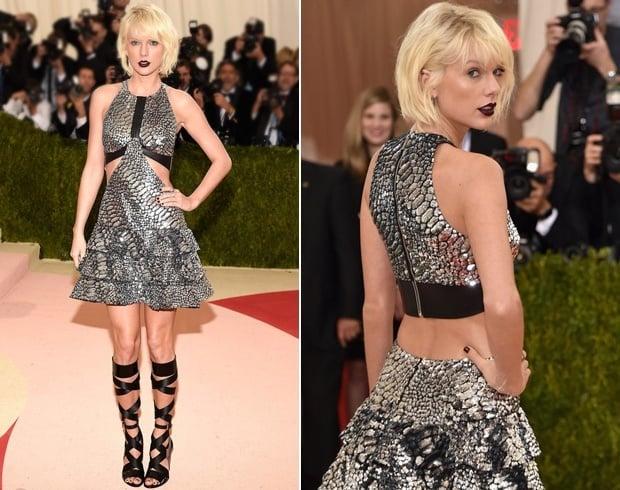 Taylor Swift At Met Gala 2016