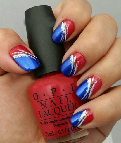 Unique Blue Nail Design Ideas