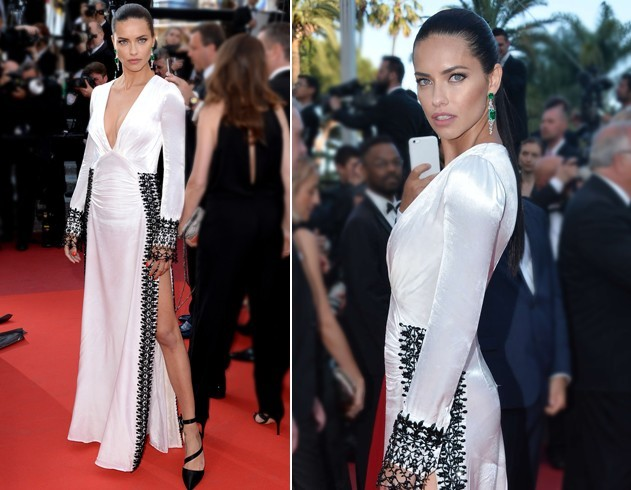 Adriana Lima At Cannes