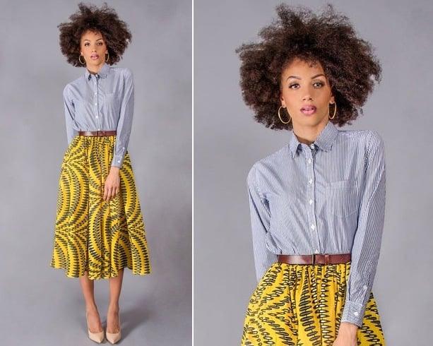 African Dress Pattern